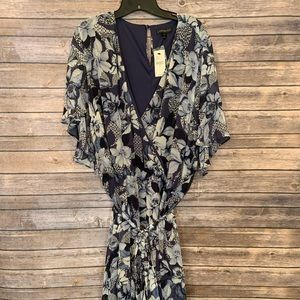 NWT Lane Bryant 28 Floral Fit & Flare Dress